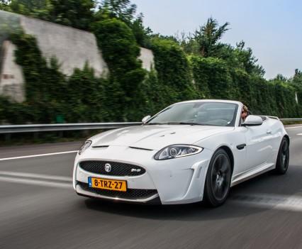 Jaguar XKR-S Convertible Front White