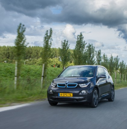 Electric love: BMW i3
