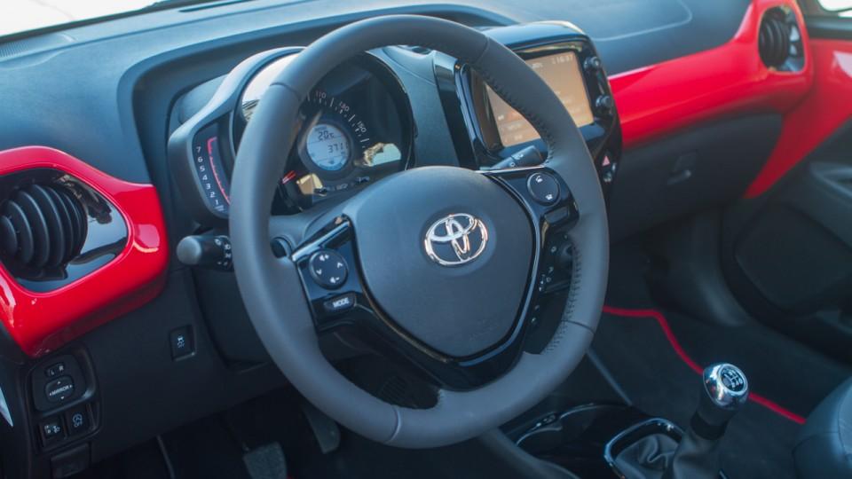 Toyota Aygo dashboard
