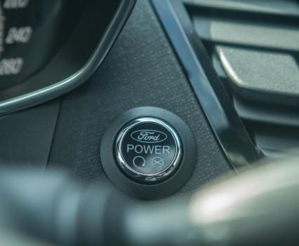 Ford Fiesta ST startknop