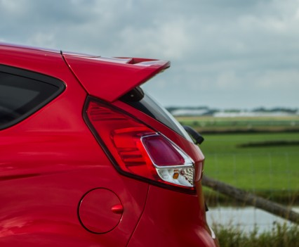 Ford Fiesta ST spoiler