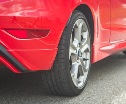 Ford Fiesta ST uitlaat