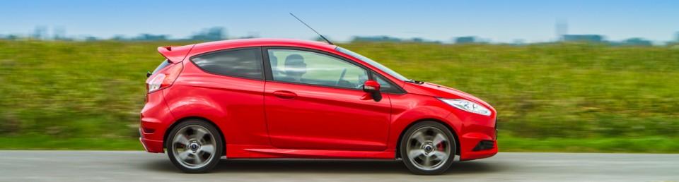 Ford Fiesta ST zijkant