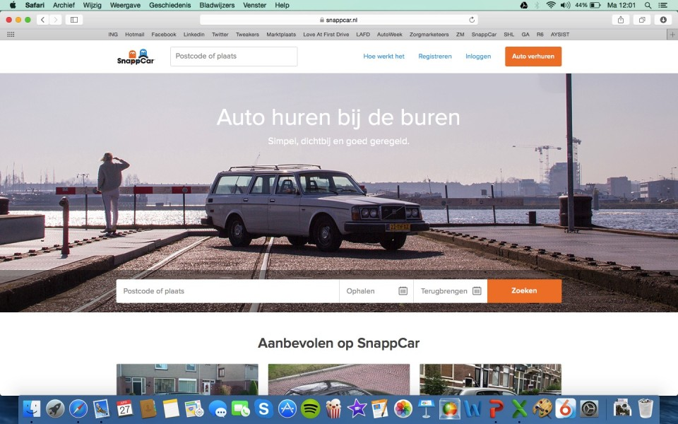 SnappCar Home