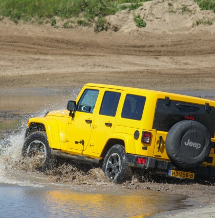 Boys with toys: Jeep Wrangler