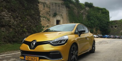 Rondje Ardennen met een Renault Clio RS Trophy