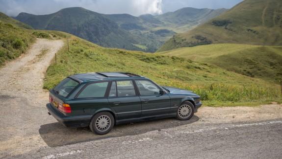 BMW E34 540i Touring Passo di Croce Dominii