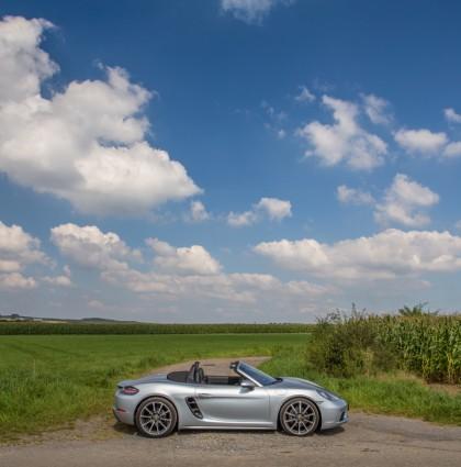 Perfectie is niet saai: Porsche 718 Boxster