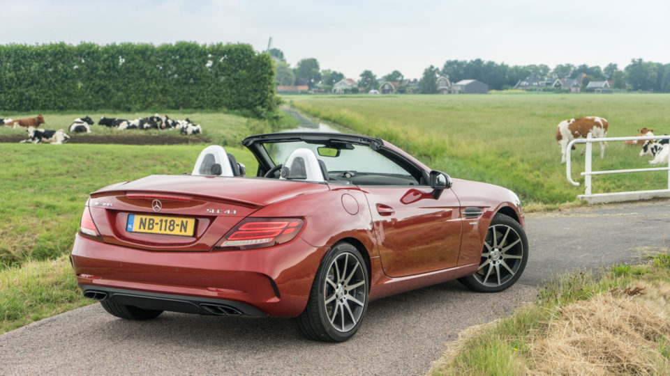 Mercedes Benz SLC 43 AMG