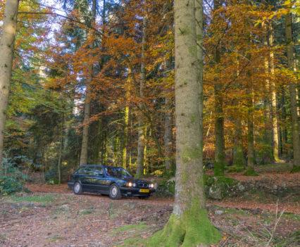 BMW E34 540i Touring Vogezen
