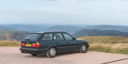 BMW E34 540i Touring Hochneck Vogezen