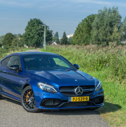 Benz boven baas: Mercedes-AMG C 63 S Coupé