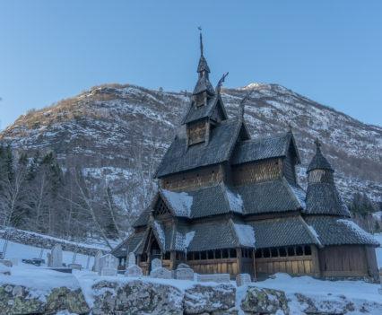 Roadtrip Noordkaap Noorwegen Borgund stavkirke